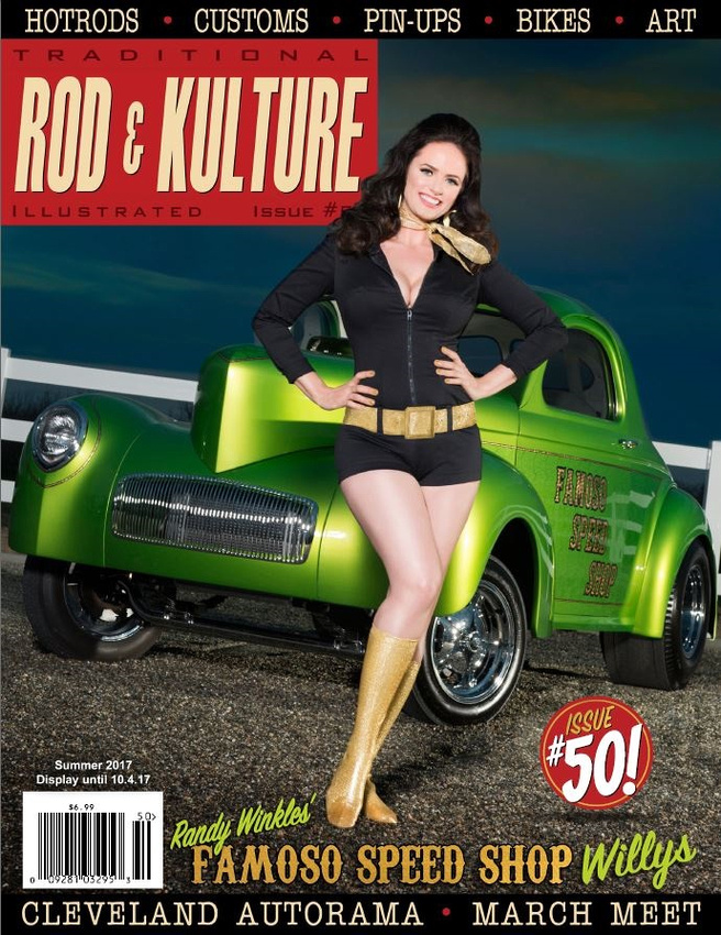 Traditional Rod & Kulture 50th Issue by Holly West